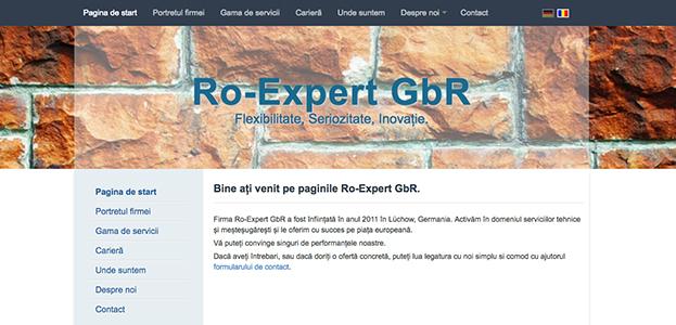 Firma Ro Expert GbR A Fost Infiintata In Anul 2011 Lchow Germania Activam Domeniul Serviciilor Tehnice Si Mestesugaresti Le Oferim Cu Succes Pe